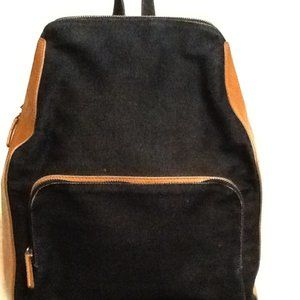 Cole Haan Denim & Leather Grand Ambition Backpack